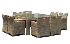 High Quality Outdoor Wicker Patio Dining Set pictures & photos