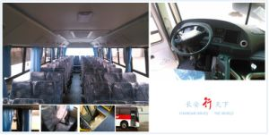 65-77 Seats Labor Bus/Commuter Bus Bench Seat Tata/Ashok Layland Model pictures & photos
