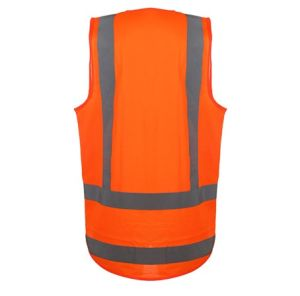 New Design High Visibility Safety Vest with Chest Pocket pictures & photos