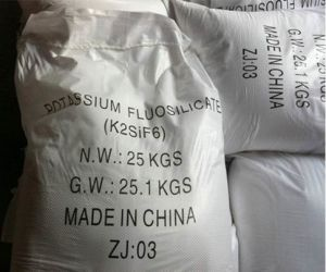 Potassium Fluosilicate Industrial Grade 98%/K2sif6 pictures & photos