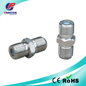 F Double Female Connector with Wide Hex pictures & photos