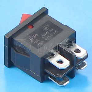Miniature Black Rocker Switch 4 Pin on-off pictures & photos
