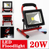 1100lm IP65 USB Rechargeable 20W Portable Highlight LED Floodlight with CE RoHS