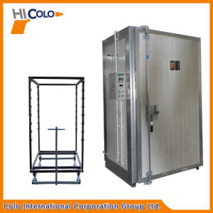 Small Manual Electric Powder Curing Oven with Cart pictures & photos