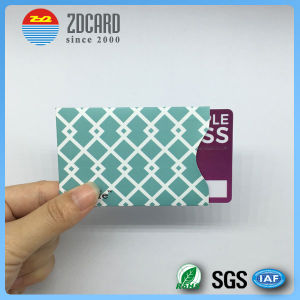 Customized Aluminum Foil Paper RFID Blocking Sleeve for Credit Card pictures & photos