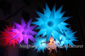 2016 Party Decoration Inflatable Star with LED Lighting pictures & photos