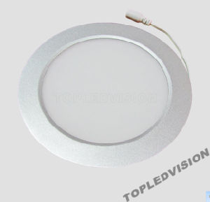 High Quality Aiuminum Frame 6W Round LED Panel Light pictures & photos