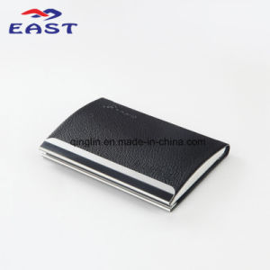 Simple Business Card Case Design with Custom Logo pictures & photos
