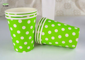 DOT Design Disposable Tableware Printed Paper Cup