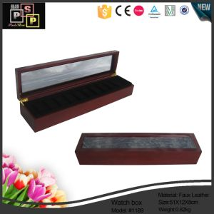 Wooden Durable Watch Box with Twelve Watches (1189) pictures & photos