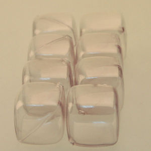 New Square Shape Ice Ball with Transparent PE, Flash Ice Cube Manufacturer in Shenzhen pictures & photos