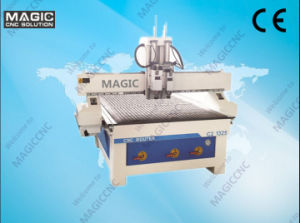 Double Workstage Woodworking CNC Engraving Machine