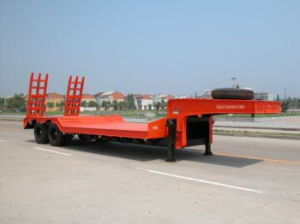 2015 New Factory Supply Flat Bed Trailer for Sale pictures & photos