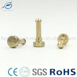 Custom Special Brass CNC Turning Parts Positioning Pin pictures & photos