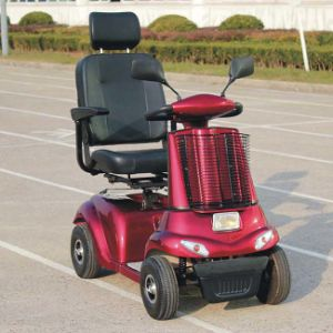 4 Wheels Mobility Scooter for Elderly and Disabled (DL24500-2) pictures & photos