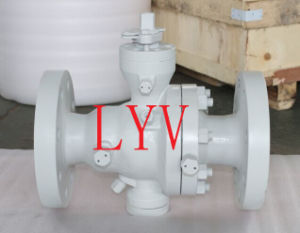 API Soft Sealing/Hard Sealing Flanged Ball Valve