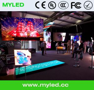 Indoor Die-Casting Cabinet Rental LED Display pictures & photos