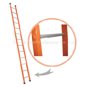 Straight Steel or Aluminum/Aluminium Scaffold Step Ladder pictures & photos
