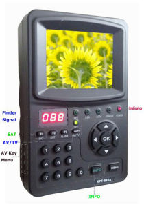Large LCD Display Digital Satellite Finder Meter pictures & photos
