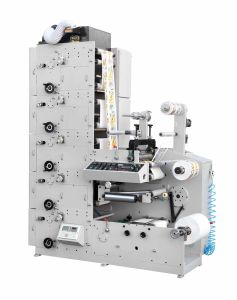 Zbs-450 Multi-Color Label (LOGO) Flexo Printing Machine pictures & photos