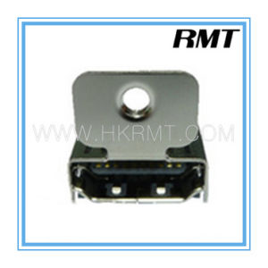 HDMI 19p a Type Female with Locking SMT Connector (RMT-160325-029) pictures & photos