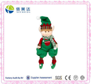 Hot Selling Christmas Stuffed Boy Elf Plush Toy pictures & photos