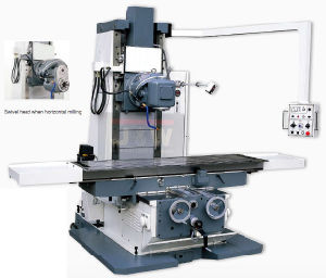 Bed-Type Universal Milling Machine (CX715T) pictures & photos