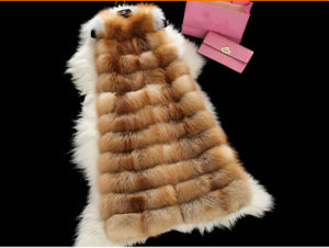 Very Warm Fox Fur Gilet Factory Whosale pictures & photos