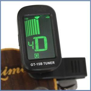 Clip on Sensitive Standard Guitar Tuner for battery pictures & photos