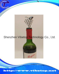 New Design Wine Metal Bottle Stopper Wmbs-1209 pictures & photos