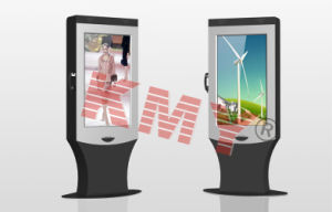Outdoor Sun Readable Digital Signage Kiosk with Touchscreen pictures & photos