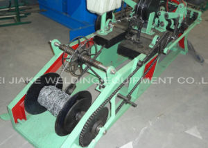 PVC Coated Barbed Wire Mesh Netting Machine pictures & photos