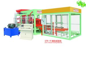 Fully Automatic Hydraulic Block Making Machine (QT8-15) pictures & photos