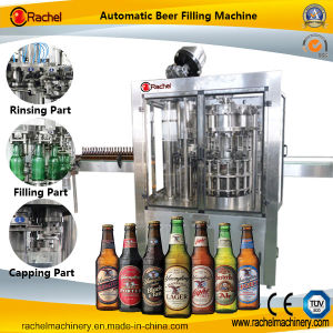 Economic Small Type Automatic Beer Filling Machine/Machinery pictures & photos