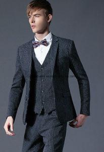 100% Wool Men Wedding Suit or Tuxedo pictures & photos