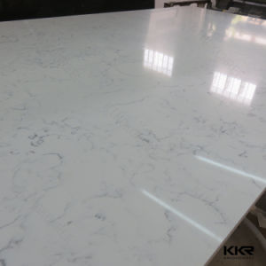 Artificial Marble Carrara White Quartz Stone pictures & photos