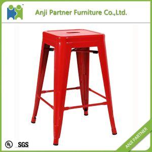 Latest Design Room Furniture Round Armless Simple Design Metal Dining Chair (Kalmaegi) pictures & photos