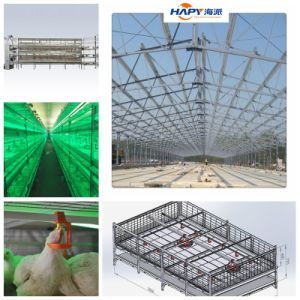 One Stop Prefabricated Poultry Farm House Construction pictures & photos