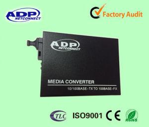 10/100/1000base Gigabit Ethernet Fast Fiber Media Converter pictures & photos