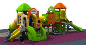 Huadong New Design Indoor Playground Plastic Children Slide Equipment pictures & photos