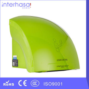 Wall-Mounted Popular Colorful Good Quality 1800W ABS Mini Automatic Toilet Bathroom Hand Dryer pictures & photos