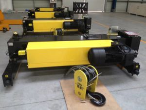 5ton Double Girder European Type Electric Wire Rope Hoist pictures & photos