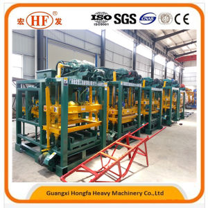 Concrete Block Machine Cement Brick Making Machine (QTJ4-25C) pictures & photos