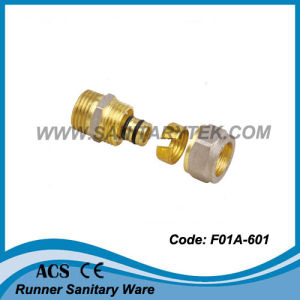 Brass Compression Fitting for Pex-Al-Pex Pipe (F01A-601) pictures & photos