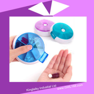 Medical Pill Kit Box with Separated Case for Promotion (BH-039) pictures & photos