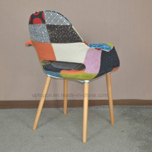 Fabric Cushion Dining Room Wooden Chair (SP-EC851) pictures & photos