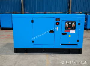 Ricardo Air-Cooled Engine Portable Silent Diesel Power Generator 50kw pictures & photos