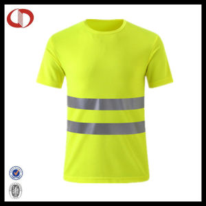 Reflective Polyester Sports T Shirts Wholesale pictures & photos
