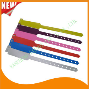Hospital Promotional Plain Plastic ID Bracelet Wristbands Bands (8020B) pictures & photos