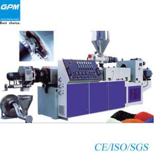 Counter Rotation Conical Twin-Screw Pelletizing Extrusion Units pictures & photos